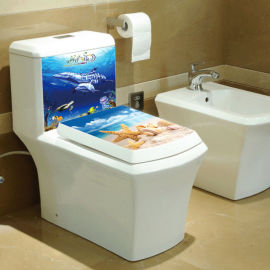 水箱纸巾盒电器等各类面版3D立体贴画三维高清立体