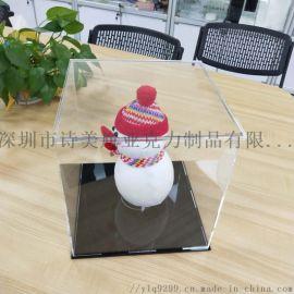 亚克力透明展示盒 模型玩具防尘罩手办拼接拆卸防尘