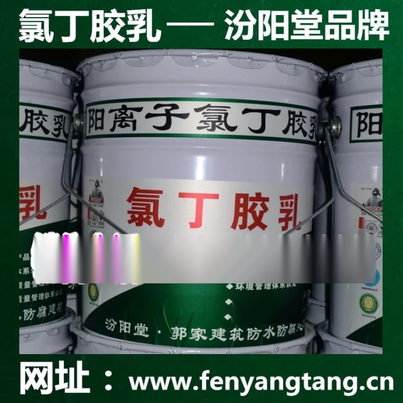 氯丁胶乳乳液/建筑外墙防水/水池防水、消防水池防水