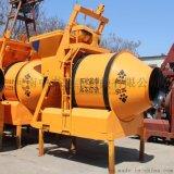 河南中泰重工建筑爬坡翻斗式JZM350混凝土搅拌机