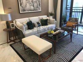 新款简约现代布艺沙发大小户型家具整装客厅沙发