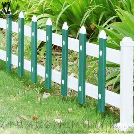園林草坪護欄,花壇塑鋼圍欄,pvc綠化區塑鋼柵欄