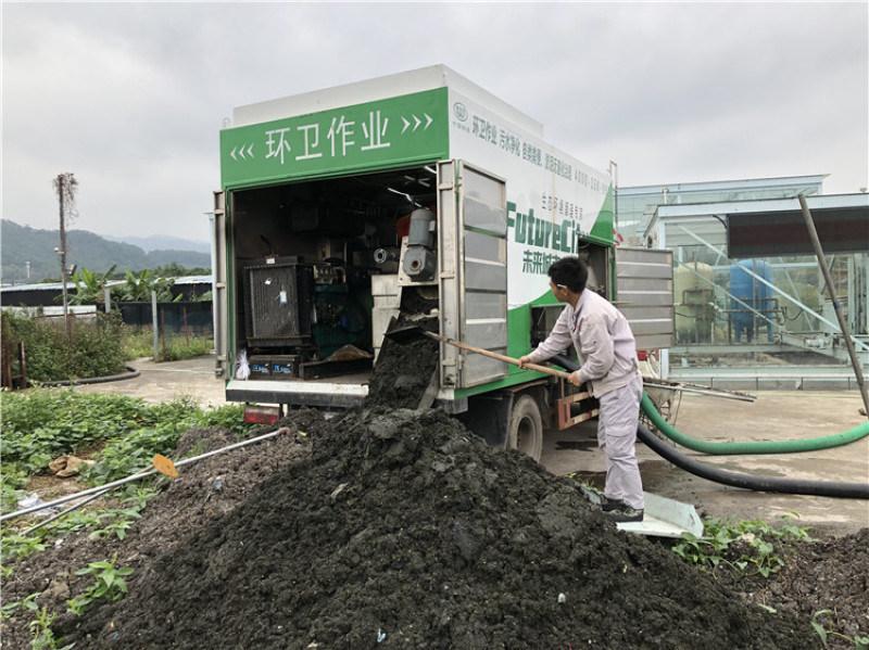 新型掏粪环保处理车 多功能净化干湿分离吸粪车