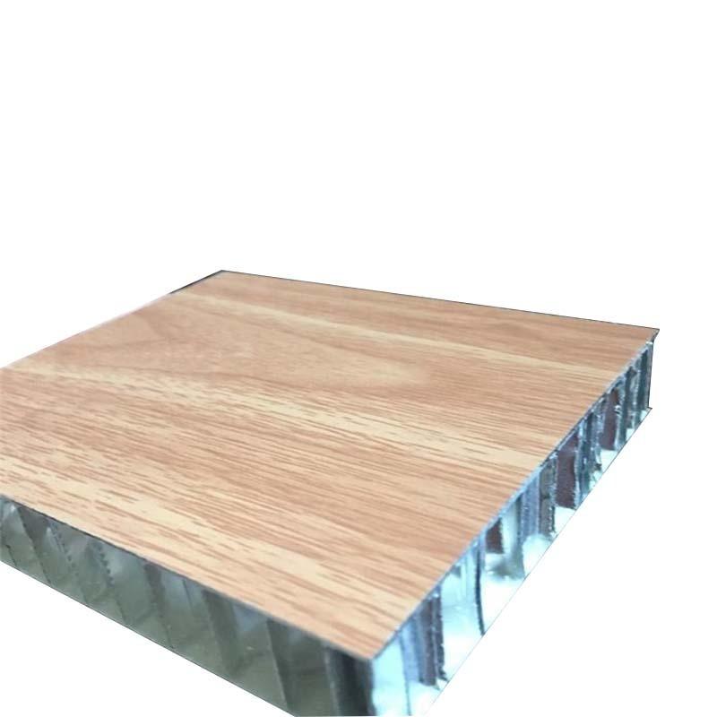 木纹铝蜂窝板厂家直销 墙面装饰铝合金复合蜂窝板