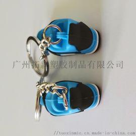 广州工厂专业定制PVC 3D软胶钥匙扣