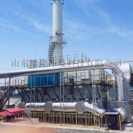 陕西地区皓隆环境生产三床式RTO蓄热式燃烧炉