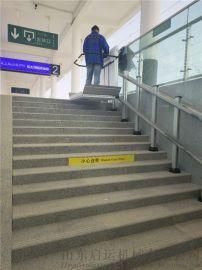 长沙市变频无障碍平台导轨斜挂爬楼机残疾人升降设备