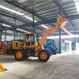 四驱工地用多功能装载机 华科 装载卸运一体装载机