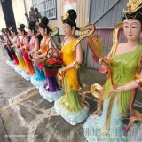 民間七仙女彩繪神像佛像廠家 七仙女神像