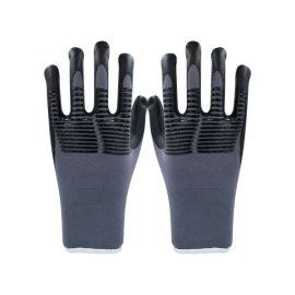 15针尼龙超细发泡压纹手套