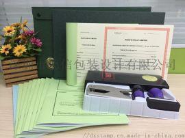 香港公司绿盒配套资料 精美香港公司印章