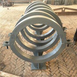 弹簧支吊架 隔热管夹管道支座 蛭石隔热管托