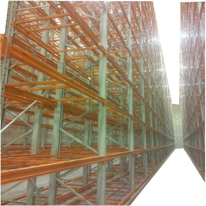 廣州倉庫貨架擺放排列,窄通道貨架定製生產