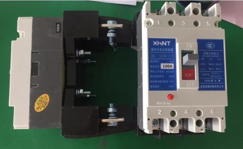 湘湖牌OMEXM-350A系列塑料外壳式断路器资料