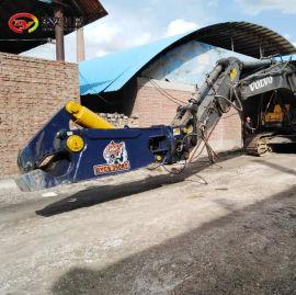 厂房拆除 钢结构鹰勾剪 挖机液压鹰嘴剪