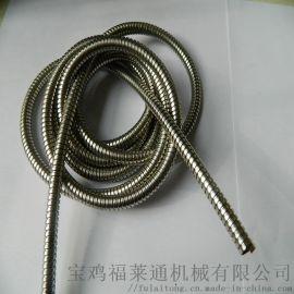 苏州市双扣不锈钢25规格穿线蛇皮管