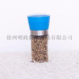 胡椒研磨器手动调味罐研磨瓶不锈钢花椒芝麻磨碎器
