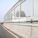 道路聲屏障製造廠商 鍍鋅板百葉聲屏障