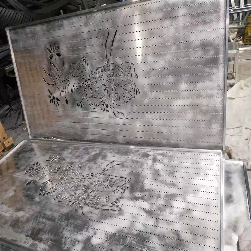 3.0mm雕刻門頭鋁單板 外牆雕花造型鋁單板特點