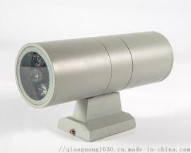 2*6WLED双头壁灯防水 围墙户外灯上下照射灯