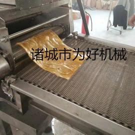 豆油皮油炸机  豆腐皮油炸线