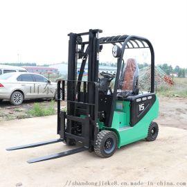 捷克四轮座驾全电动堆高车 升高车 1.5吨电动叉车