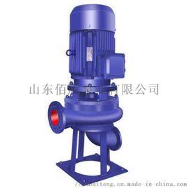直立式无阻塞污水泵LW立式管道排污泵