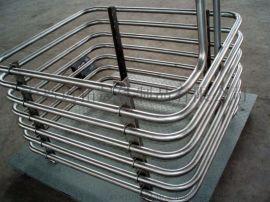加工制作硫酸铝钛盘管蒸发器,冷凝器,换热器