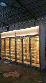 精致钛金不锈钢酒柜价格