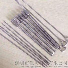 304不锈钢管定制加工穿刺针 不锈钢毛细管开槽磨尖