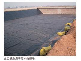 南阳周口商丘养猪场防漏防渗膜土工膜施工养殖场黑膜