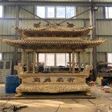 铜香炉,铸铜长方形香炉厂家,长方形铜香炉定做厂家