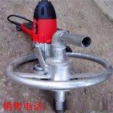 工地大口径水井钻机 深度100米电动液压打井机