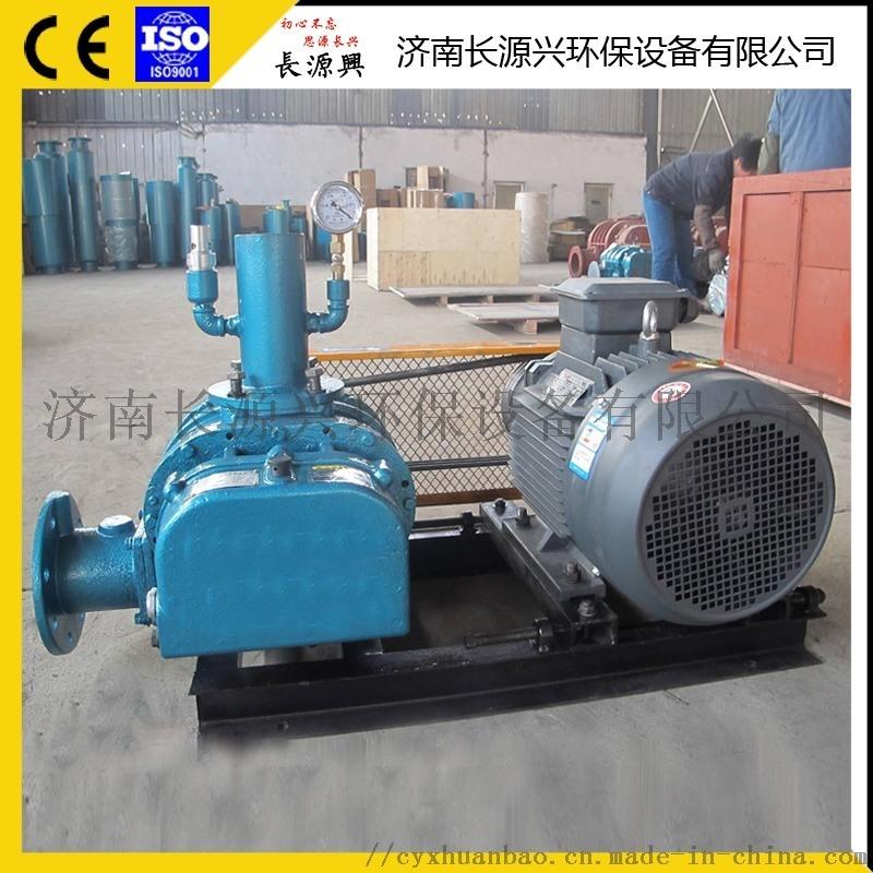 山东厂家**水产养殖罗茨风机增氧机 气力输送真空泵