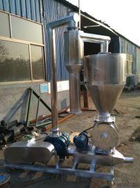 农用车载式电动吸料机 大豆粉真空上料气力输送机 L