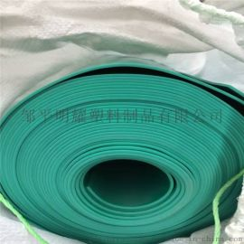 PVC绿色软板 防腐抗压耐PVC塑料板磨 绿色胶板
