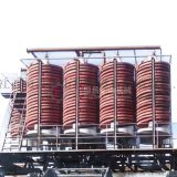 重選重金屬分離螺旋溜槽 全自動螺旋選礦機 選礦機