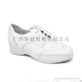 广州矫健女式皮鞋,力学功能外贸鞋,稳健舒适休闲皮鞋