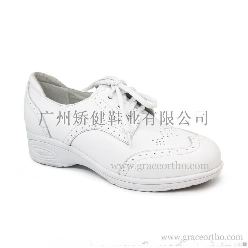 廣州矯健女式皮鞋,外貿護士鞋,穩健舒適休閒皮鞋