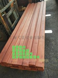 供应南美菠萝格防腐木木材加工 菠萝格生产