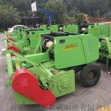牧草玉米秸稈收割打捆機 自走式粉碎收割打捆一體機