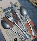 LU09 仿古不锈钢餐具
