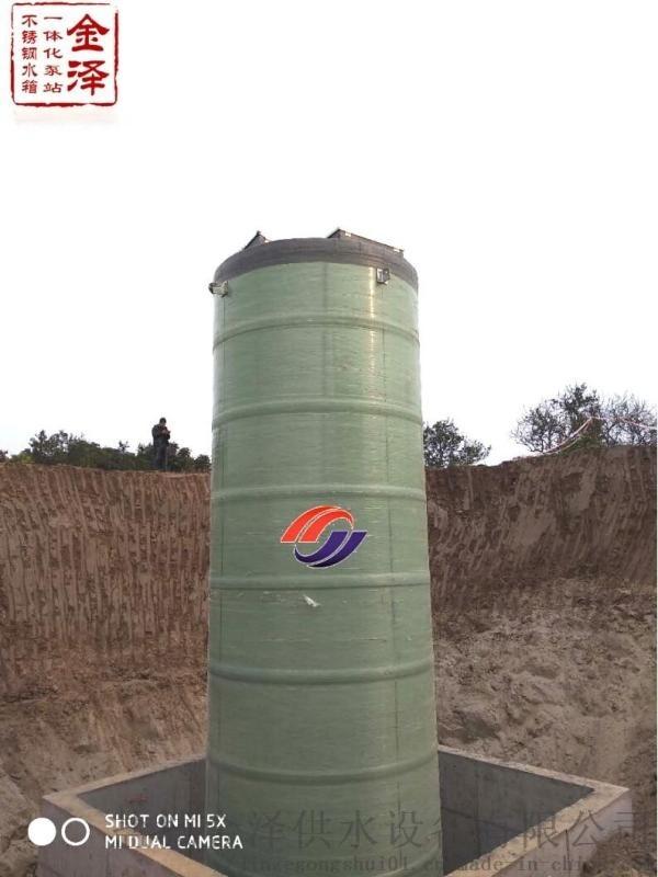 常州一體化污水提升泵站成品出廠