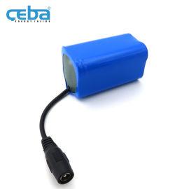 18650锂电池组四串仪表仪器工具14.8V电池