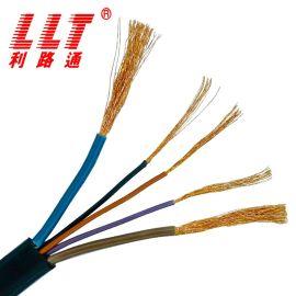 利路通电线电缆国标YCW橡套软线2.5平方电源线