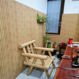 四合院仿竹纹圆管 围栏铝合金竹纹铝管材