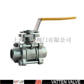 VT耐高温手动焊接球阀