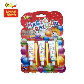 兒童玩具出口吹波球,太空氣球泡泡膠