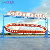 新型架空观览车类游乐项目 20座疯狂列车游乐产品