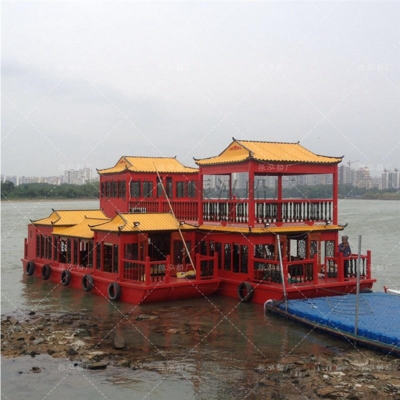 画舫船 装饰船 乌篷船 餐饮船 游船 观光船